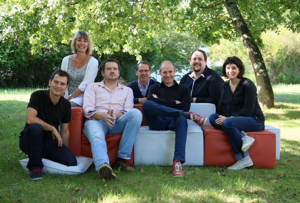 L'équipe du Pôle Tice des Pays de la Loire